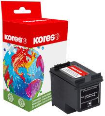 Kores Cartouche rechargée G1022BK remplace hp C8765EE,No.338