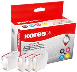 Kores MultiPack encre G1507KIT remplace Canon PGI-520BK/