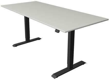 kerkmann Goulotte à câbles horizontale pour bureau assis/