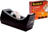 3M Scotch Dévidoir de table C38, incl. ruban adhésif Clear
