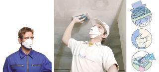 3M Masque de Protection Respiratoire FFFP-3 (9332)