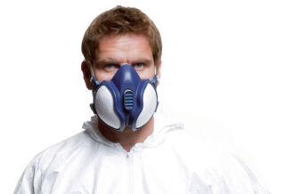 3m demi masque respiratoire 4251, degré de protection: