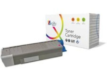 OKI Toner pour OKI C610/N/DN/DIN, magenta