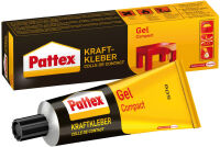Pattex Colle de contact Gel Compact, avec solvant, tube de