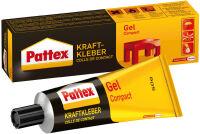 Pattex Colle de contact Compact Gel, avec solvant, tube de