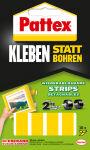 Pattex Pastilles adhesives pour montage, detachables, jaune