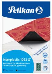 Pelikan Papier carbone interplastic 1022 G, 10 feuilles