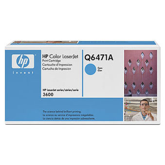 hp Toner pour hp Color LaserJet 3600, cyan