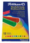 Pelikan Craie pour tableaux noirs 745/12, coloré, étui en