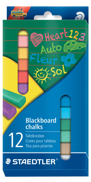 staedtler 57023601 3 90 craie pour tableau mural color. Black Bedroom Furniture Sets. Home Design Ideas