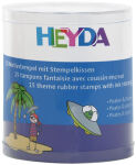 HEYDA Kit de tampons à motifs 'pirates & astronaute', boîte