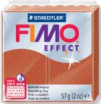 FIMO Pâte à modeler EFFECT, à cuire, argent métallique