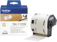 brother DK-11221 Etiquette carré, 23 x 23 mm, blanc