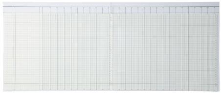 König & Ebhardt piqûre à colonne A4, 348 x297 mm,26 colonnes