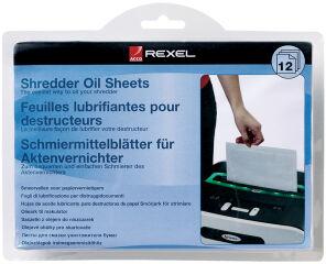 Rexel Feuille lubrifiante pour destructeur de documents