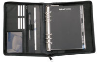 bind Agenda modèle T3-1, format A5, sans calendrier, noir
