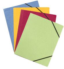 ELBA Chemise à élastiques Carte Forte, format A4, assorti
