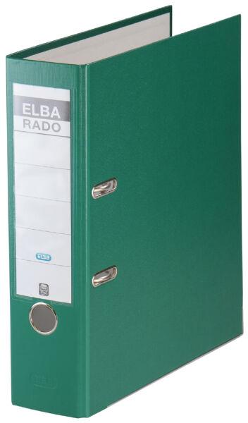elba 61310417 3 90 elba classeur rado brillant largeur de dos 80 mm vert. Black Bedroom Furniture Sets. Home Design Ideas