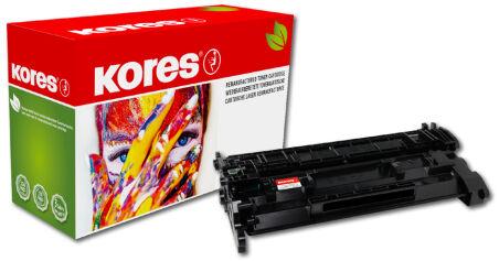 Kores Toner G1204RBS remplace hp Q6470A/Canon 711BK, noir