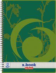 herlitz Cahier à spirales recyclé x.book, A4, 160 pages,
