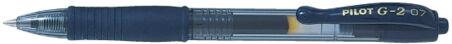 PILOT Recharge pour stylo encre gel BLS-G2-7, noir