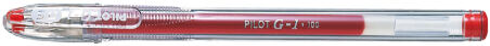 PILOT Recharge pour stylo à encre gel BLS-G1, bleu