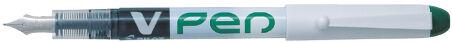 PILOT Stylo plume V-Pen effaçable, bleu