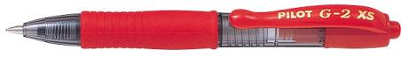 PILOT Stylo roller à encre gel G2 XS7 PIXIE, rouge