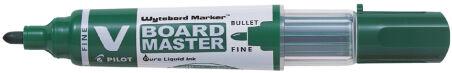 PILOT Marqueur V Board MASTER, pointe ogive, moyen, rouge