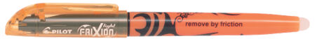 Pilot Surligneur FRIXION light, largeur tracé: 3,8mm, jaune