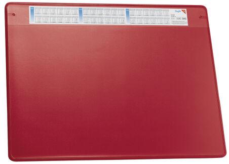 Läufer Sous-main DURELLA SOFT, 500 x 650 mm, noir