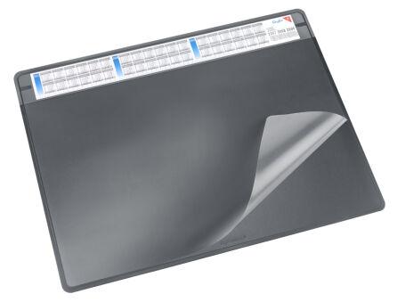 Läufer Sous-main DURELLA SOFT, 500 x 650 mm, marron