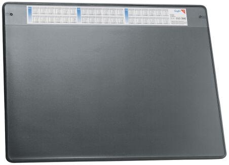 Läufer Sous-main DURELLA SOFT, 500 x 650 mm, gris