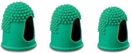 Läufer Doigtier, taille 3, diamètre: 17 mm, vert