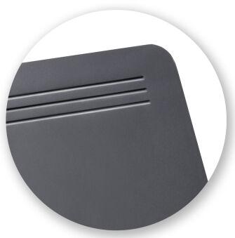 Läufer Sous-main Ambiente MATTON, bleu