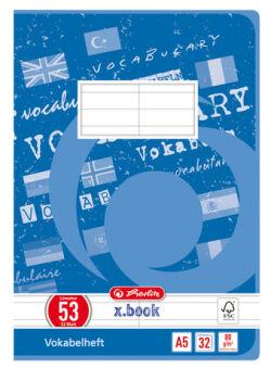 Vokabelheft x.book DIN  A5