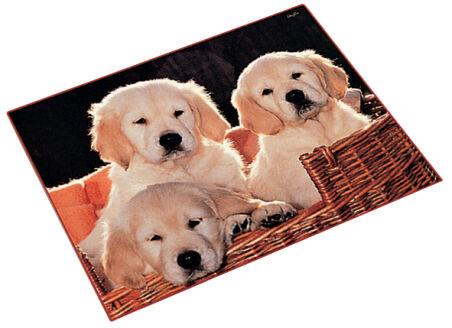 Läufer Sous-main chiens, 400 x 530 mm