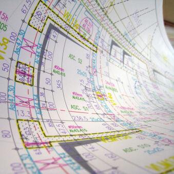 CANSON Papier jet d'encre CAD opaque, A1, 90g/m2