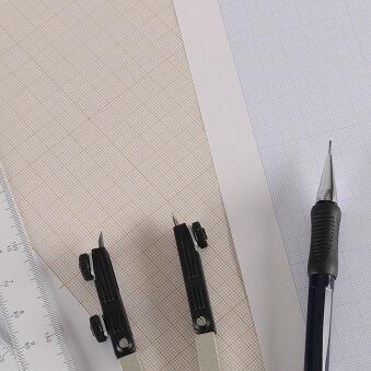 CANSON Bloc de papier millimétré ,format A3, 90 g/m2