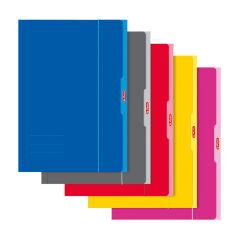 herlitz Chemise de rangement, format A3, couleurs assorties