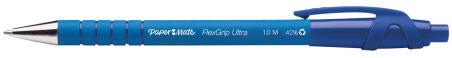 Paper:Mate Stylo à bille FlexGrip Ultra, rouge