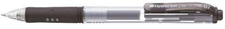 Pentel Stylo bille à encre gel Hybrid Gel Grip K157, noir