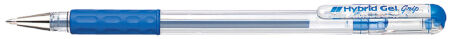 Pentel stylo roller à encre gel Hybrid Gel Grip K116, rouge