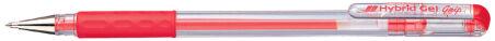 Pentel stylo roller à encre gel Hybrid Gel Grip K116, bleu