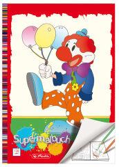 herlitz Super cahier de coloriage, A4, 128 pages