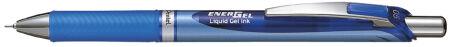 Pentel stylo roller à encre gel liquide EnerGel BLN75, rouge