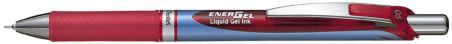 Pentel Stylo roller à encre gel liquide EnerGel BLN75, bleu
