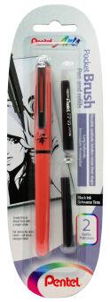 PentelArts Cartouche de recharge FP10-AO pour stylo pinceau