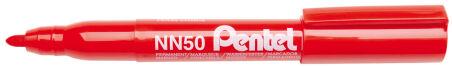 Pentel Marqueur permanent GREEN-LABEL NN50, bleu