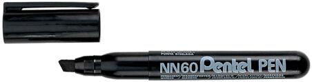 Pentel Marqueur permanent GREEN-LABEL NN60, noir